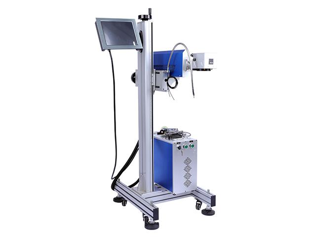 Fliegende Online-CO2-Lasermarkierungsmaschine